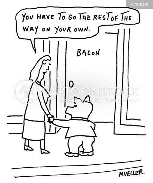 slaughter cartoon