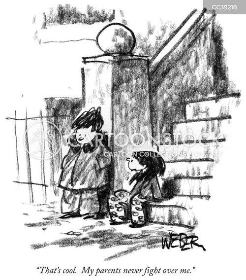 childhood trauma cartoon