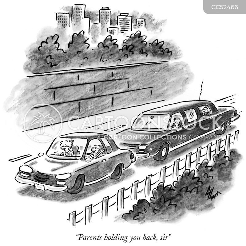 limo drivers cartoon
