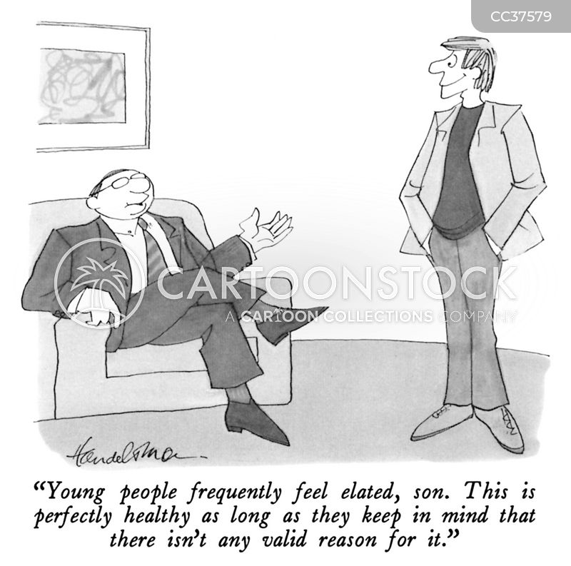 giving advice cartoon