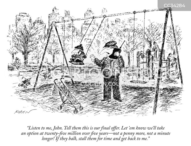 Swings cartoon