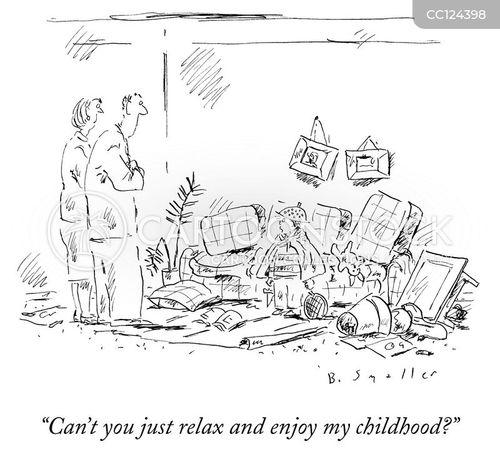 naughty children cartoon