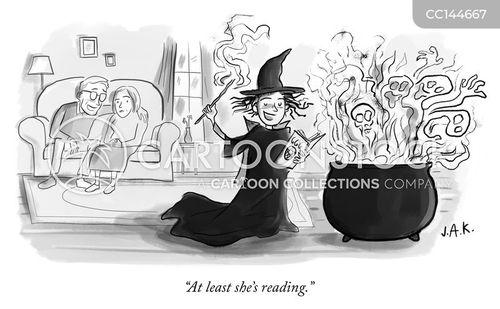witchcraft cartoon