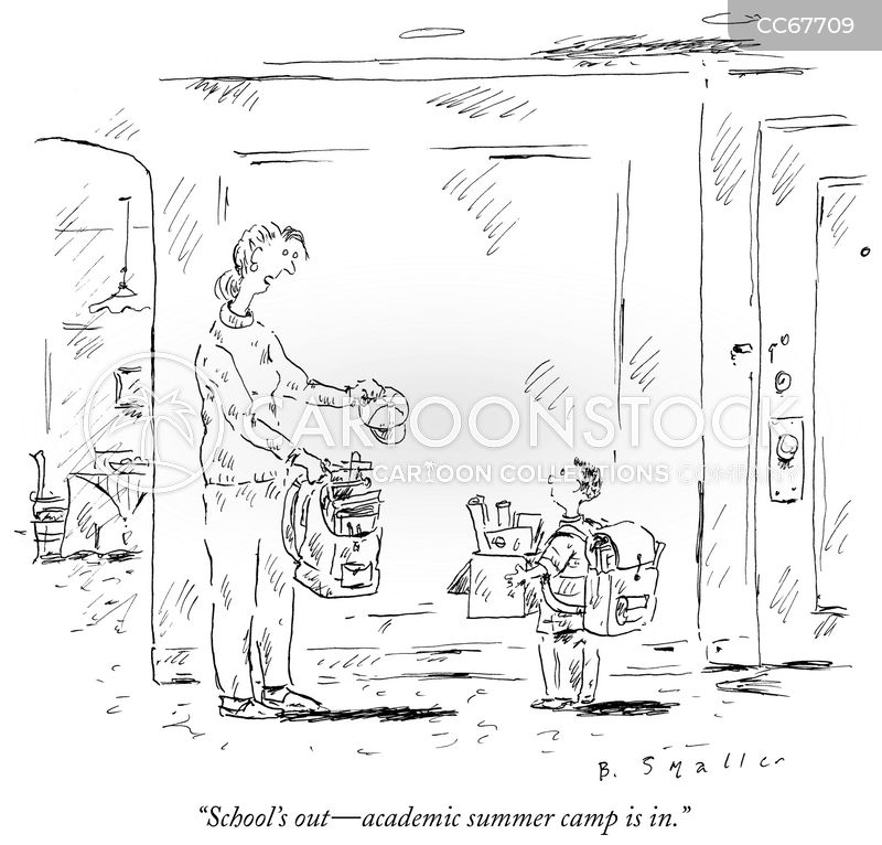 pushy parent cartoon