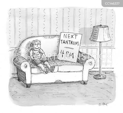 tantruming cartoon