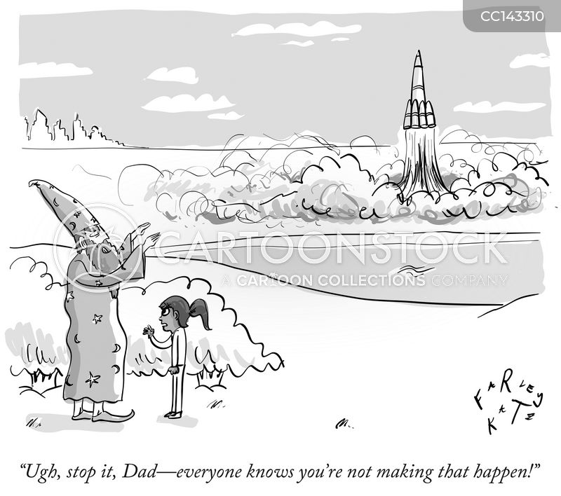 wizards cartoon