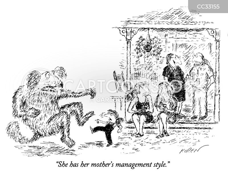 bad manager cartoon