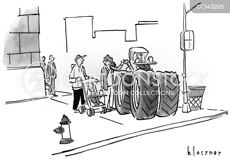 pushchairs cartoon