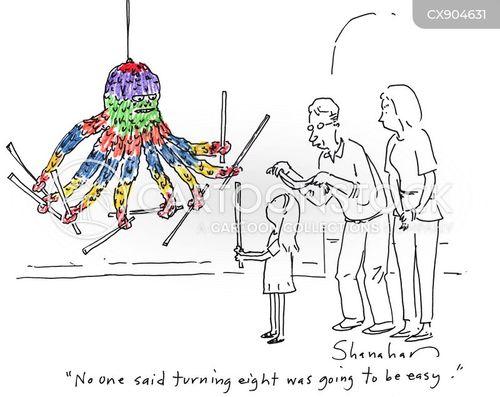 childrens parties cartoon