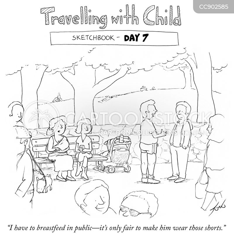 breastfeeding cartoon