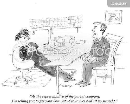parent companies cartoon