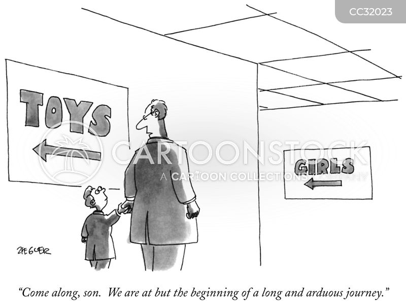 toy stores cartoon