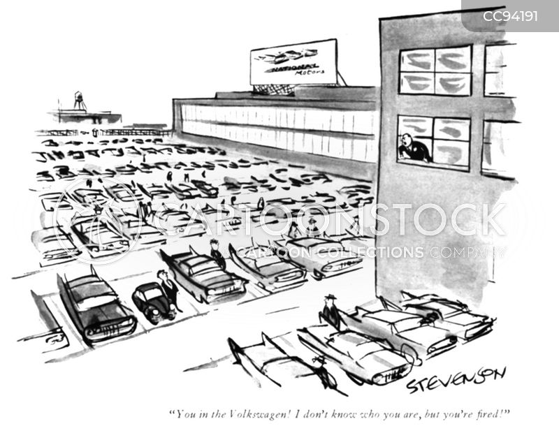 parking cartoon