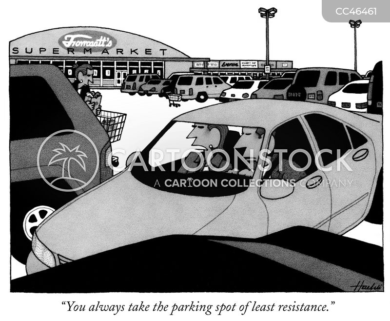 retail parks cartoon