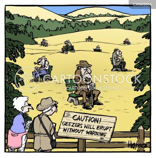 geezers cartoon