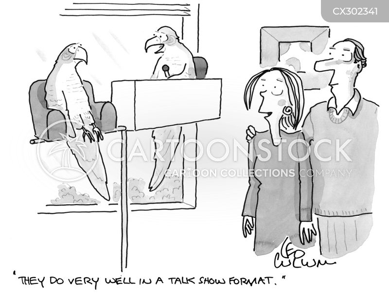 television format cartoon