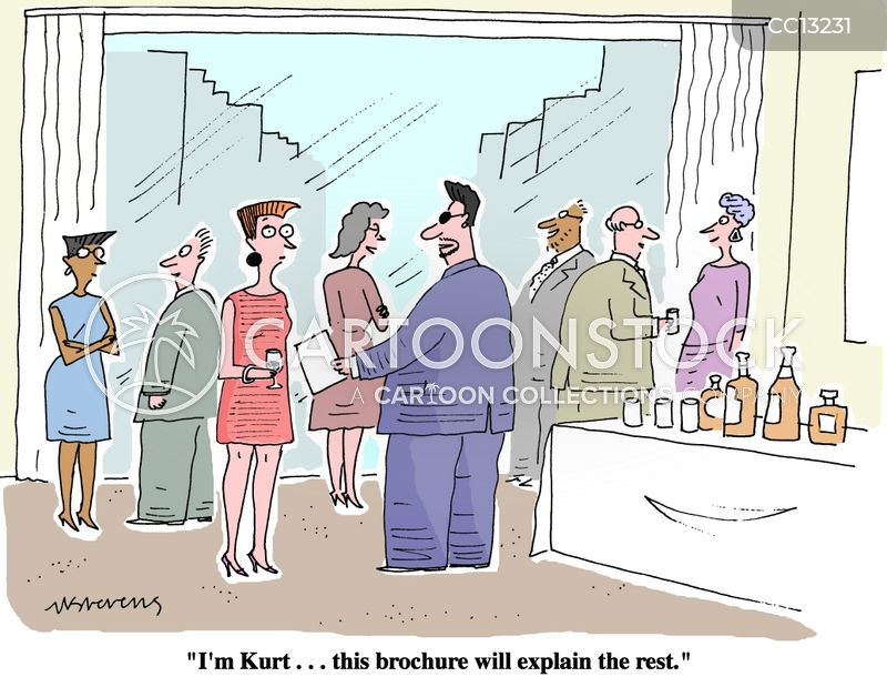 to the point cartoon