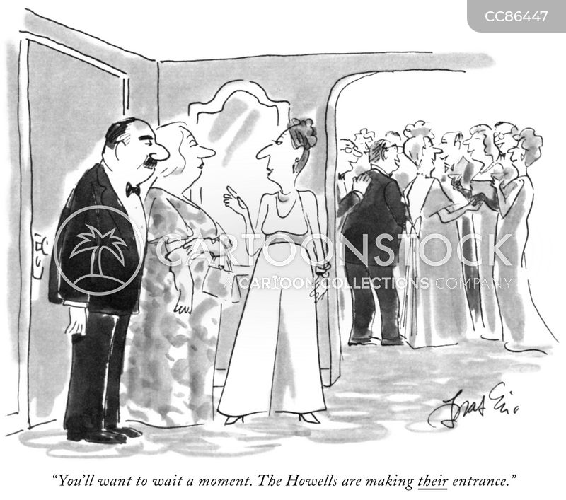 black tie cartoon