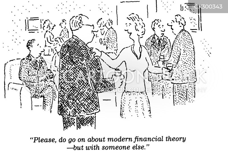 modern financial theory cartoon