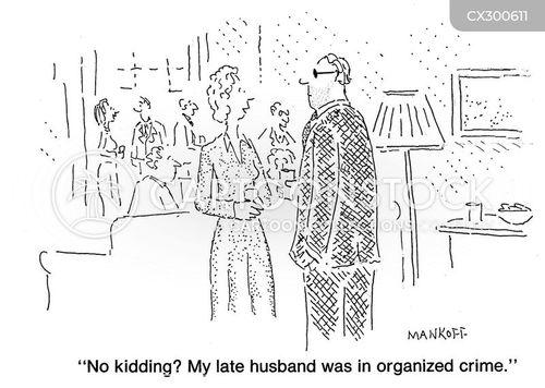 late husband cartoon