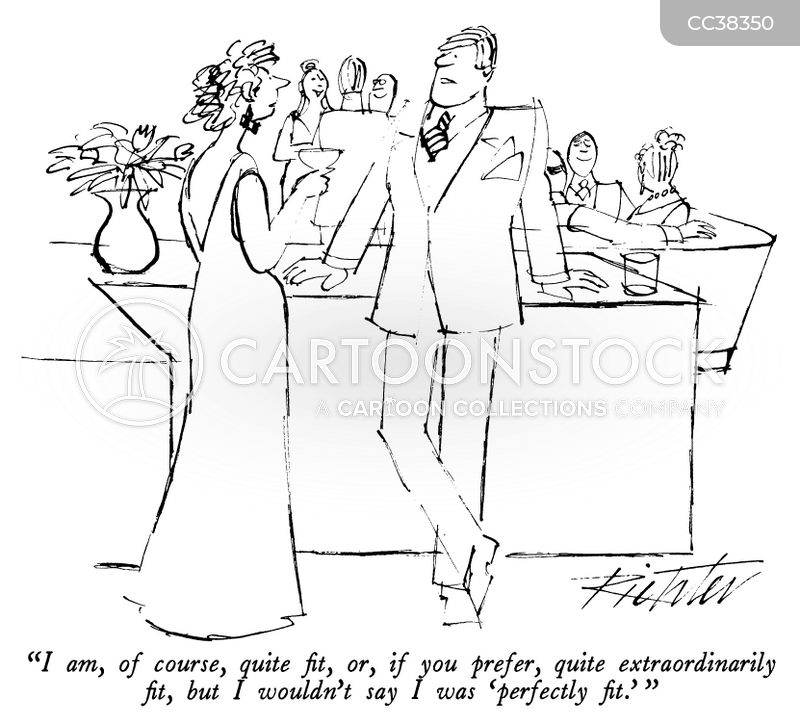 self-confidence cartoon