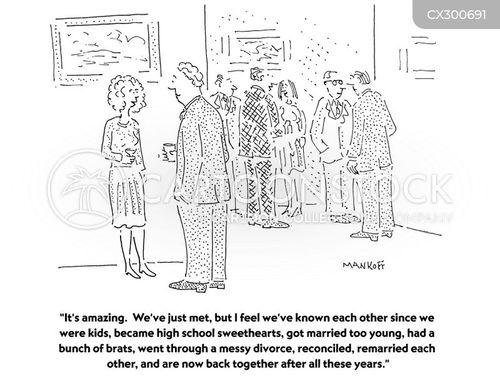 remarried cartoon