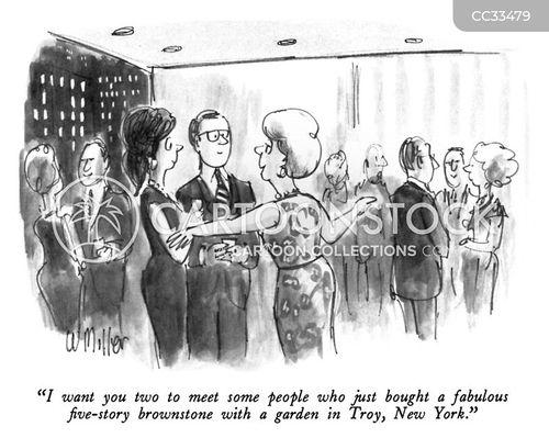 hostess cartoon