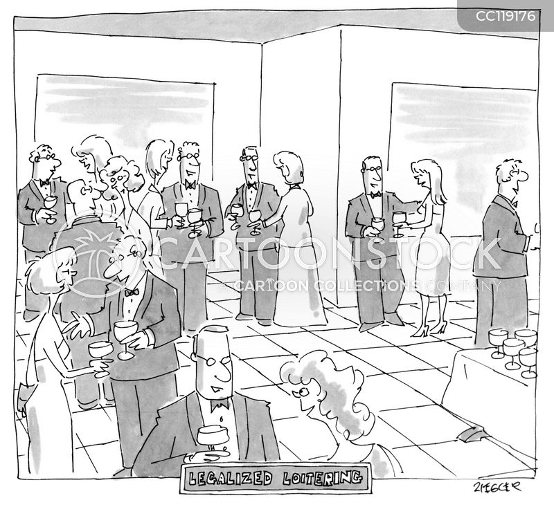 loitering cartoon