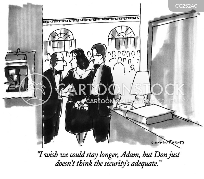 insecurity cartoon