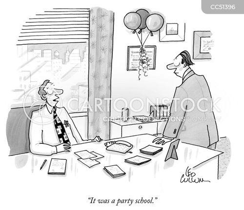 degree cartoon