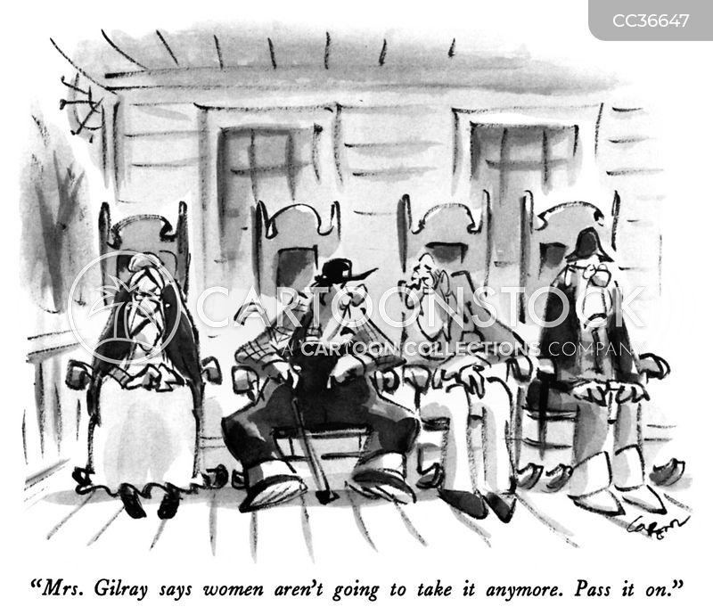 retirement communities cartoon