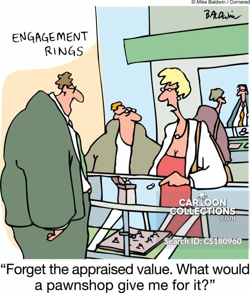 appraised value cartoon