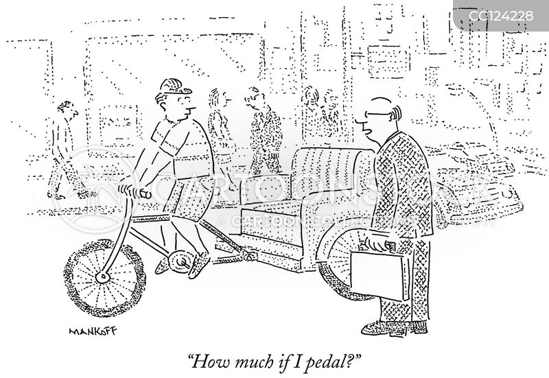 rideshare cartoon