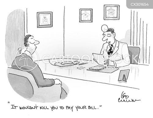 insurance companies cartoon