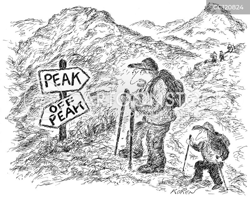 off peak times cartoon