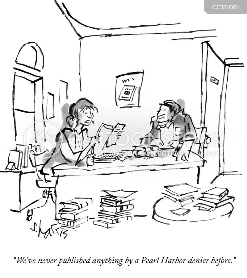 publishers cartoon