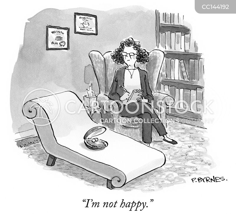 unhappiness cartoon