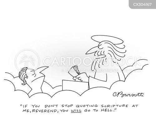 vicars cartoon