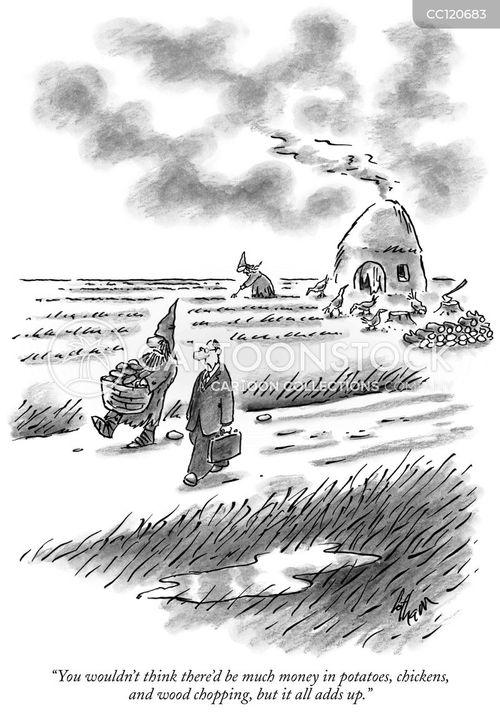 savings cartoon