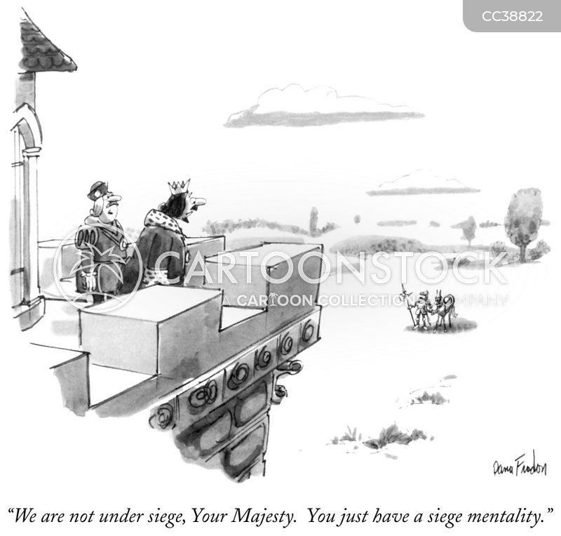 sieges cartoon