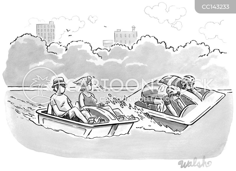 Pedal-boats cartoons, Pedal-boats cartoon, funny, Pedal-boats picture, Pedal-boats pictures, Pedal-boats image, Pedal-boats images, Pedal-boats illustration, Pedal-boats illustrations