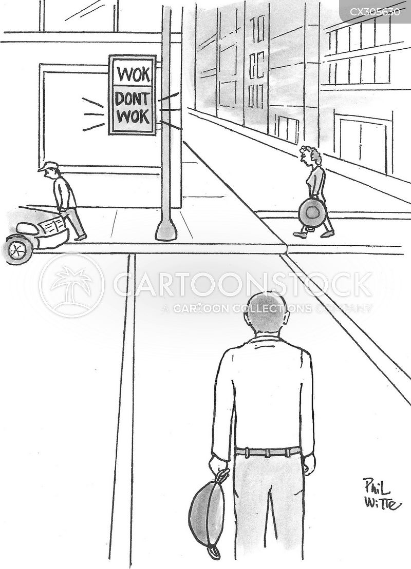 pelican crossing cartoon