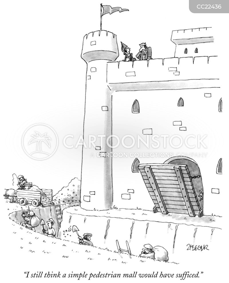 castle cartoon