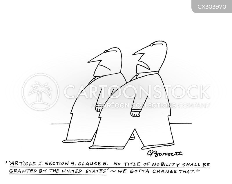nobility clause cartoon