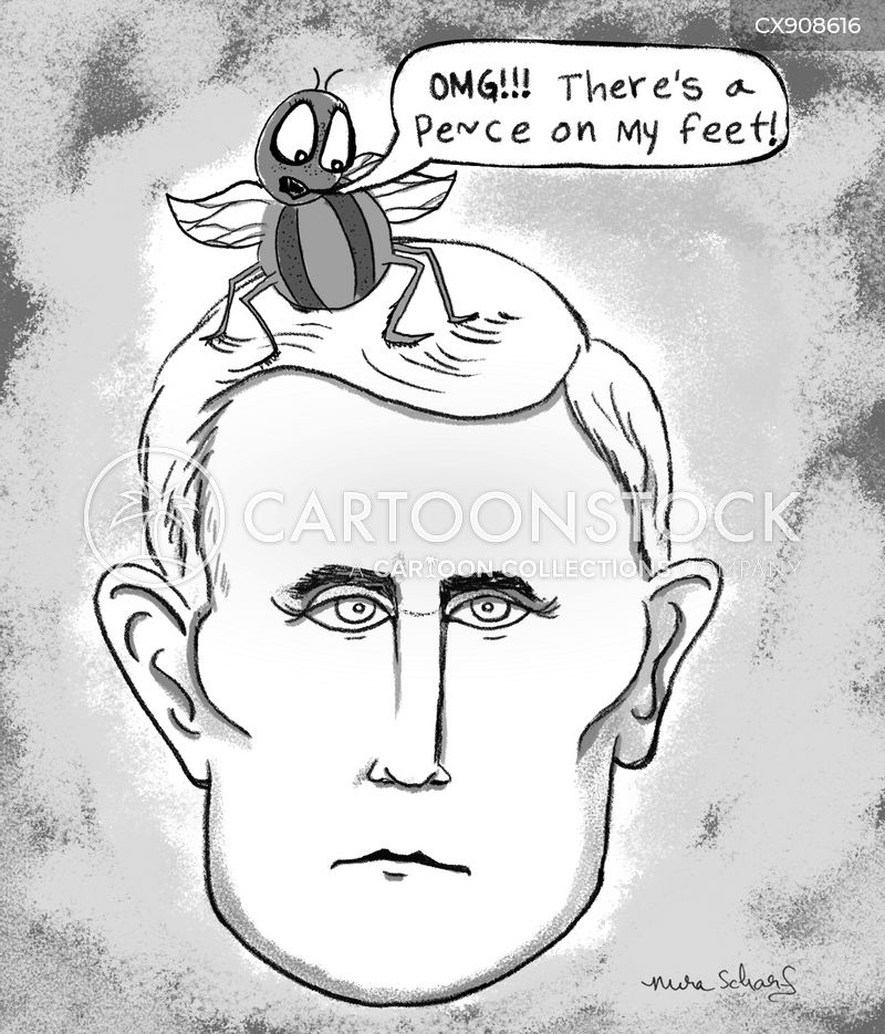 pence cartoon
