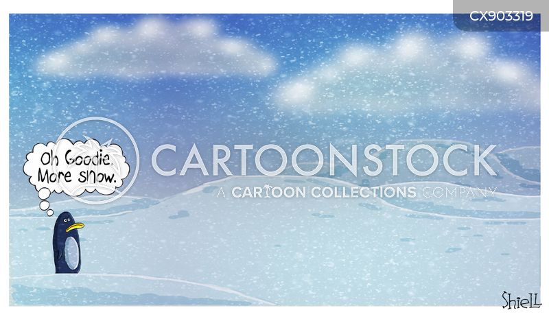 snowstorms cartoon