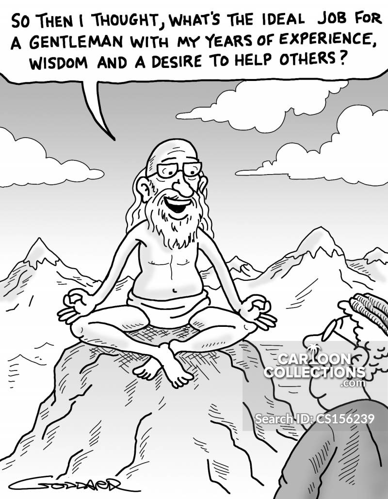 wise men wise man cartoon