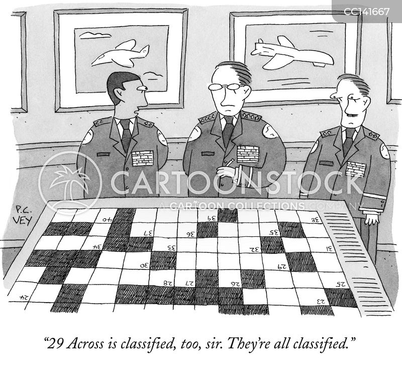 Puzzle cartoon