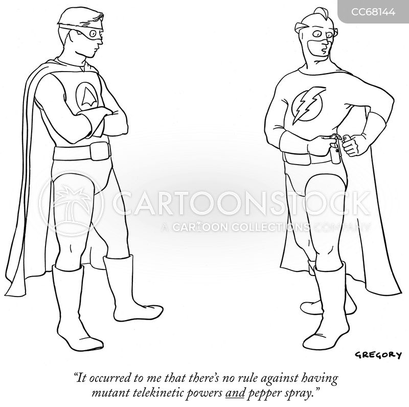 superpower cartoon