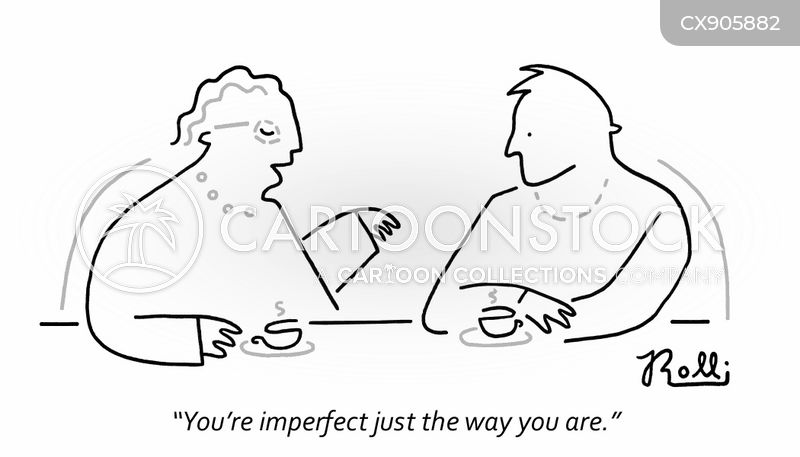 imperfection cartoon